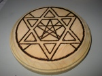 Unfinished Earth Pentacle, stage 3