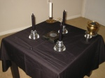 Saturn Talisman Consecration Altar
