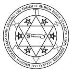 Lamen of Haniel, angelic governor of Venus