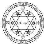 Lamen of Kammael, angelic governor of Mars
