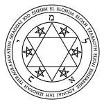 Lamen of Michael in Hebrew