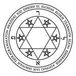 Lamen of Raphael in Hebrew