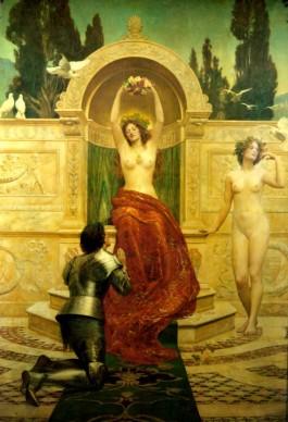 "John Collier's ""Tannhäuser in the Venusberg"""