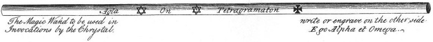 Trithemius Wand Design