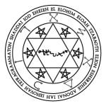 Lamen of Advakhiel, angel of Sagittarius