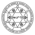 Lamen of Asmodel, angel of Taurus
