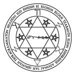 Lamen of Hamaliel, angel of Virgo