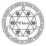 Lamen of Malkhidael, angel of Aries