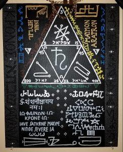 Talismanic Saturn Painting